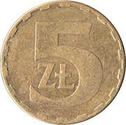 5 Złotych (1st Eagle Design) -  reverse