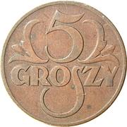 5 Groszy – reverse