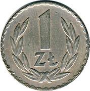1 Złoty -  reverse