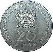 20 Złotych (Maria Konopnicka) -  obverse