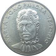 20 Złotych (Maria Konopnicka) -  reverse