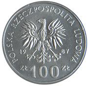 100 Złotych (Kazimierz III Wielki) -  obverse