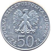 50 Złotych (Bolesław I Chrobry) -  obverse