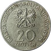 20 Złotych (COMECON Anniversary) -  obverse