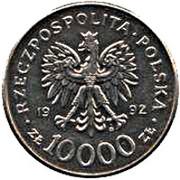 10 000 Złotych (Władysław Warneńczyk) -  obverse