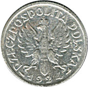 1 Złoty (Woman and Ears) – obverse