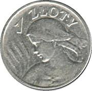 1 Złoty (Woman and Ears) – reverse
