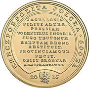 500 Złotych (Casimirus Jagellonides) – obverse