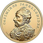 500 Złotych (Casimirus Jagellonides) – reverse