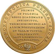 500 Złotych (Boleslaus Dictus Chrobry Sive Strenuus) – obverse