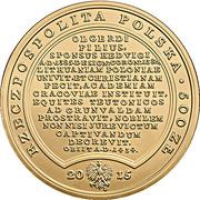500 Złotych (Vladislaus Jagello) – obverse
