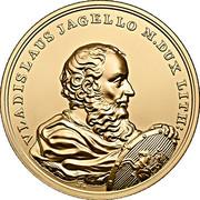 500 Złotych (Vladislaus Jagello) – reverse