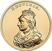 500 Złotych (Hedvigis) – reverse