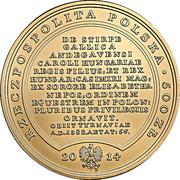 500 Złotych (Ludovicus Hungarus) – obverse