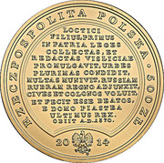 500 Złotych (Casimirus Magnus) – obverse