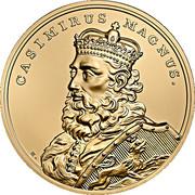 500 Złotych (Casimirus Magnus) – reverse