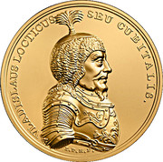 500 Złotych (Vladislaus Locticus Seu Cubitalis) – reverse