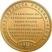 500 Złotych (Venceslaus Bohemus) – obverse