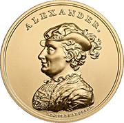 500 Złotych (Alexander) – reverse