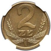2 Złote (2nd Eagle Design) -  reverse