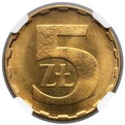 5 Złotych (2nd Eagle Design) -  reverse