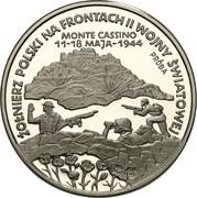 200 000 Złotych (Polish Soldiers WW II Monte Cassino; Trial STrike) -  obverse