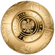 2018 Złotych (100th Anniversary of Regaining Independence by Poland) – obverse
