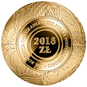 2018 Złotych (100th Anniversary of Regaining Independence by Poland) – reverse