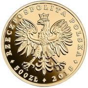 500 Złotych (White-tailed Eagle) – obverse