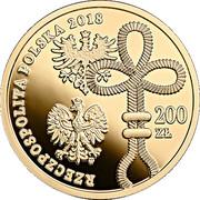 200 Złotych (Wielkopolskie Uprising) – obverse