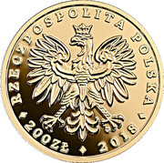 200 Złotych (White-tailed Eagle) – obverse