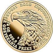 200 Złotych (White-tailed Eagle) – reverse