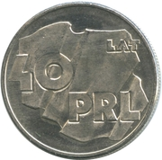 100 Złotych (40 Years of Peoples Republic of Poland) -  reverse