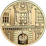 200 Złotych (200th Anniversary of the Jan Matejko Academy of Fine Arts in Kraków) – obverse