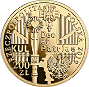 200 Złotych (100th Anniversary of the Catholic University of Lublin) – obverse