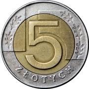 5 Złotych -  reverse