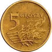 5 Groszy (non-magnetic) -  reverse
