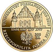 200 Złotych (100th Anniversary of the University of Poznań) – obverse