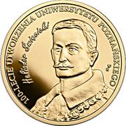 200 Złotych (100th Anniversary of the University of Poznań) – reverse