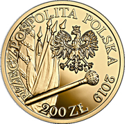 200 Złotych (Hetman Stefan Czarniecki) – obverse