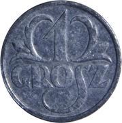1 Grosz (German Occupation WW II) – reverse