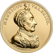 500 Złotych (Henricus Valesius) – reverse
