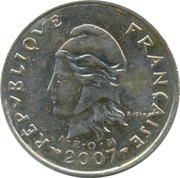 10 Francs (non-magnetic) – obverse
