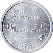 50 Centimes -  reverse