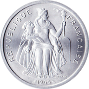 5 Francs (without IEOM) – obverse