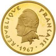 20 Francs (Gold Piedfort) – obverse