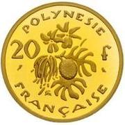 20 Francs (Gold Piedfort) – reverse