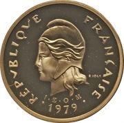 100 Francs (Gold Piedfort) – obverse