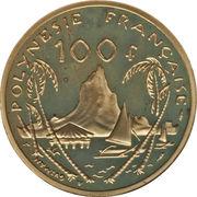 100 Francs (Gold Piedfort) – reverse