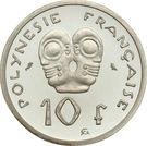 10 Francs (Silver Piedfort) – reverse